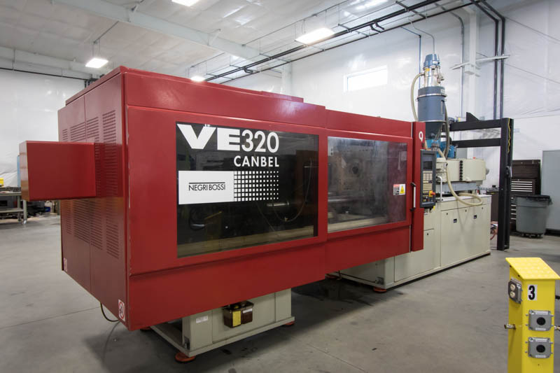 Negri Bossi VE320 Canbel molding press